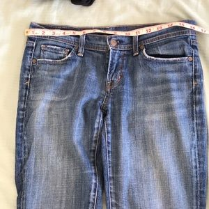 """COH """"Ingrid Stretch"""" low rise flare jeans"""